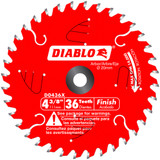 Freud FRE-D0436X Diablo 4-3/8 in. x 36 Tooth Finish Trim Saw Blade