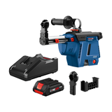Bosch GDE18V-26DB15 SDS-plus Bulldog Mobile Dust Extractor Kit with (1) CORE18V 4.0Ah Compact Battery