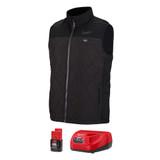 Milwaukee 303B-21 M12 Black Heat Vest Axis