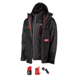 Milwaukee 255B-21 M12 Heated AXIS Layering with GRIDIRON Work Shell