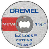 Dremel EZ456 5Pc Ez Lock Metal Cut Off Wheel
