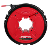 Milwaukee 48-44-5195 M18 FUEL ANGLER 100' Non-Conductive Polyester Pulling Fish Tape Drum