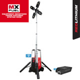 Milwaukee MIL-MXF041-1XC MX FUEL ROCKET Tower Light/Charger XC406 6.0Ah Kit
