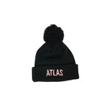 Atlas Machinery ATL-POMPOMPINK Atlas Pink Pompom Toque