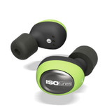 ISOtunes ISO-IT14 Free Wireless Buds - Safety Green