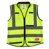 Milwaukee 48-73-508X High Visibility Performance Safety Vests - Yellow