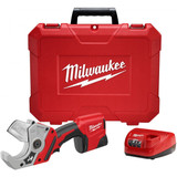 Milwaukee 2470-21 M12 Plastic Pipe Shear 1.5Ah Kit
