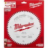 "Milwaukee 48-40-0826 8-1/2"" 60T Fine Finish Circular Saw Blade"