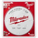 "Milwaukee 48-40-1224 12"" 80T Fine Finish Circular Saw Blade"