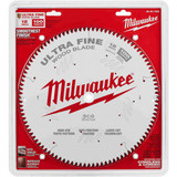 "Milwaukee 48-40-1228 12"" 100T Ultra Fine Finish Circular Saw Blade"