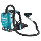 Makita DVC261TX11 18Vx2 LXT Cordless Backpack Vacuum Cleaner (2.0 L)