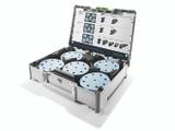 """Festool FES-577126 SYS-STF D125, 5"""" Granat Abrasive Kit"""