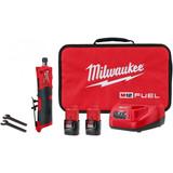 "Milwaukee 2486-22 M12 Fuel 1/4"" Straight Die Grinder 2x CP2.0ah Battery Kit"