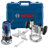Bosch BOS-GKF125CEPK Colt 1.25 HP (Max) Variable-Speed Palm Router Combination Kit