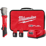 """Milwaukee 2565-22 M12 Fuel 1/2""""Right Angle Impact Wrench With Friction Ring 2x CP2.0ah Kit"""