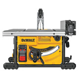 DeWALT DWE7485 8-1/4In Jobsite Table Saw