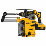 DeWALT DCH293R2DH 20V Max XR Brushless 1-1/8 In. L-Shape SDS Plus Rotary Hammer Kit W/ Dust Collection