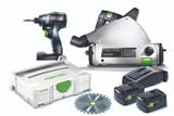 Festool FES-205601 TID 18 Impact Driver + TSC 55 - Combo Kit (Rail Not Included)