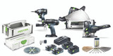 Festool FES-205604 Pro Finish Pack - Combo Kit (Rail Not Included)