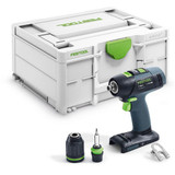 Festool FES-576451 T 18 Cordless Drill BASIC w/ Systainer3