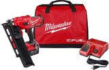 Milwaukee 2744-21 M18 FUEL 21 Degree Framing Nailer Kit