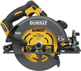 Dewalt DCS578B Flexvolt 60V MAX Brushless 7-1/4 In. Cordless Circular Saw With Brake (Tool Only)