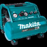 Makita MAK-MAC320Q Quiet Series 1-1/2 HP, 3 Gallon, Oil-Free, Electric Air Compressor