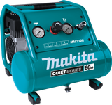 Makita MAK-MAC210Q Quiet Series, 1 HP, 2 Gallon, Oil-Free, Electric Air Compressor