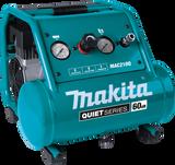 Makita MAK-MAC210Q Quiet Series, 1 HP, 2 Gallon, Oil-Free, Electric Air Compressor