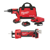 Milwaukee 2866-22CTP 2pc Drywall Combo Kit