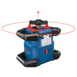Bosch GRL4000-80CHV 18V REVOLVE4000 Connected Self-Leveling Horizontal/Vertical Rotary Laser with (1) CORE18V 4.0 Ah Compact Battery