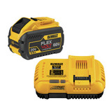 DeWALT DCB118X1 20V/60V MAX Lithium-Ion 9.0Ah Battery Pack with Fan Cooled Fast Charger