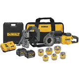 DeWALT DCE700X2K FLEXVOLT 60V MAX Cordless Pipe Threader Kit with Die Heads