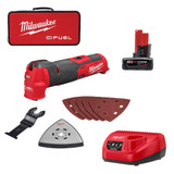 Milwaukee 2526-21XC M12 FUEL Oscillating Multi-Tool XC4.0 Kit