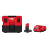 Milwaukee 0960-21 M12 FUEL 1.6 Gallon Wet/Dry Vacuum Kit