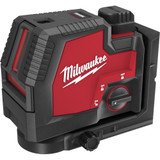 Milwaukee 3522-21 USB Rechargeable Green Cross Line & Plumb Points Laser