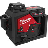 Milwaukee MIL-3632-21 M12 Green 360 Degree 3-Plane Laser Kit