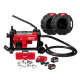 """Milwaukee 2871A-22 M18 FUEL Sewer Sectional Machine w/ CABLE DRIVE for 7/8"""" and 1-1/4"""" Cable"""