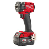 """Milwaukee 2854-22 M18 FUEL 3/8"""" Compact Impact Wrench w/ Friction Ring Kit"""