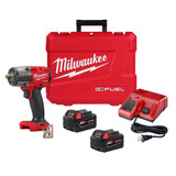 "Milwaukee 2962P-22 M18 FUEL 1/2"" Mid-Torque Impact Wrench w/ Pin Detent Kit"