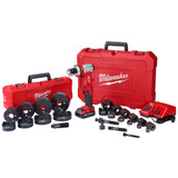 "Milwaukee 2677-23 M18 FORCE LOGIC 6 Ton Knockout Tool 1/2"" - 4"" Kit"