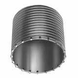 """Milwaukee 48-20-5165 6"""" SDS-MAX and SPLINE Thick Wall Carbide Tipped Core Bit"""
