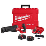 Milwaukee 2821-22 M18 FUEL SAWZALL Recip Saw 2x XC5.0 Kit