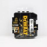 DeWALT DWA1SQ2MI20 Impact 2 x 1-inch Steel Square Screwdriving Bit (20PK)