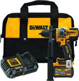 "DeWALT DCD999T1 20V MAX 1/2"" Brushless Cordless Hammer Drill/Driver With FLEXVOLT ADVANTAGE 20V/60V 6.0Ah Kit"