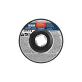 "Bosch CWX27M450 4-1/2"" x .098"" X-LOCK Arbor Type 27A (ISO 42) 30 Grit Metal Cutting and Grinding Abrasive Wheel"