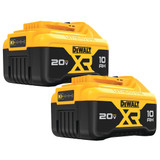 DeWALT DCB210-2 20V MAX XR 10.0Ah Li-Ion Battery (2-Pack)
