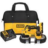 """DeWALT DCS377Q1 ATOMIC 20V MAX Brushless Cordless 1-3/4"""" Bandsaw Kit"""