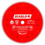 "Freud FRE-D1296L Diablo 12"" X 96 Tooth Laminate/Melamine Flooring Blade"