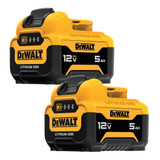 DeWALT DCB126-2 12V MAX 5.0Ah Li-Ion Battery (2-Pack)